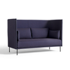HAY Silhouette Sofa High Back 2 seater - Blue