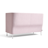 HAY Silhouette Sofa High Back Duo 2 seater - Pink