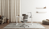 Elevation Height Adjustable Desk - White