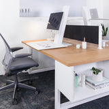 Humanscale QuickStand Eco - For Single Monitor, white