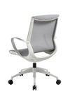 Memphis Task Chair - White Frame, Thin Mesh