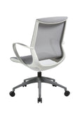 Home Office Package 1: Ferrum Study Desk & Memphis Task Chair (Light Colour)