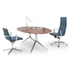ICF Notable Executive Desk - Oval Top