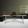 ICF Notable Executive Desk - Rectangular Top
