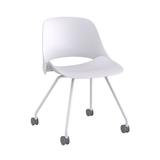 Humanscale Trea 4-Leg Base Visitor Chair on Castors