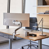 Humanscale  M10 Monitor Arm - Silver