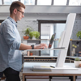 Humanscale QuickStand Eco - For Laptop, black