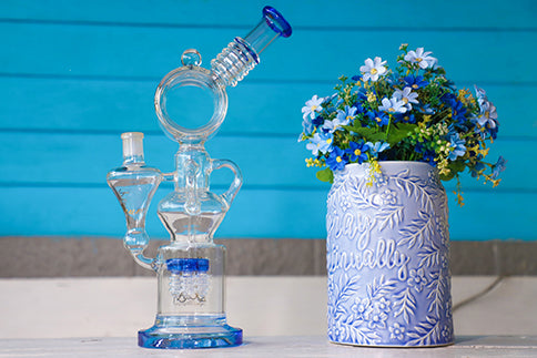 lookah glass bong