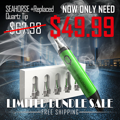 Limited Bundle Sale-Seahorse + 1 Pack Coil - LOOKAHGLASS