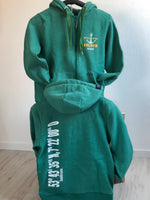 "Baltrum Herren Hoodie-Jacke ""Bottle Green"""