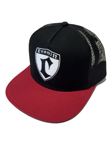 Cronin Shield Hat - Blk/Red