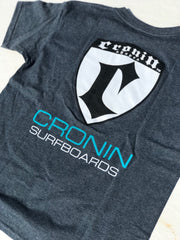 XL  gray Cronin Shield T-shirt