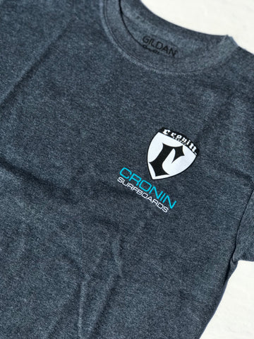 Medium  gray Cronin shield T-shirt