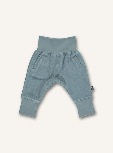UBANG sweatpants for babies in the colour slate.