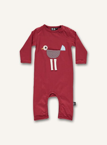 Baby Bird Onesie - Red