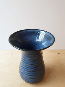 Blue vase for your flowers - SOLD
