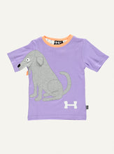 Load image into Gallery viewer, Dog tee - amatyst - STOCK SALE