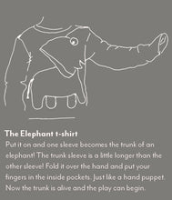 Load image into Gallery viewer, Elephant T-shirt Slate