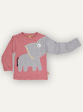 Load image into Gallery viewer, Elephant T-shirt Red soil NEW!