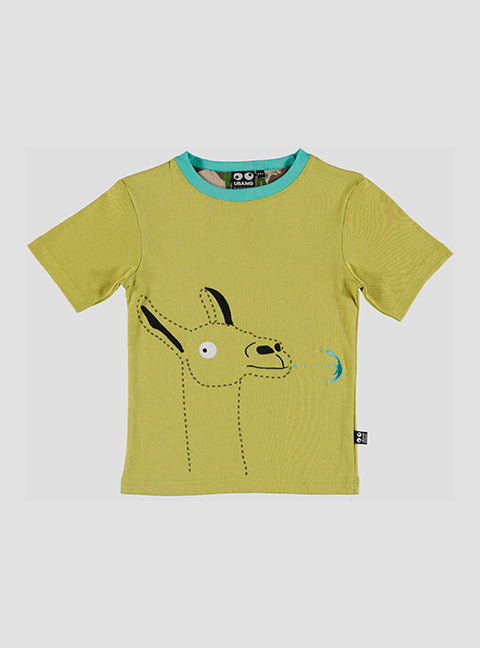 Lama t-shirt - spring green - STOCK SALE