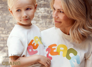 Peace Tee - supports Danish Red Cross