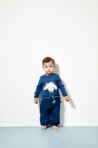 Baby Polar Bear Tee - Dark Denim - STOCK SALE