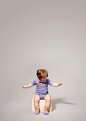 Baby Rainbow Body - Lilac -  STOCK SALE