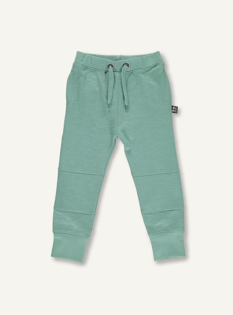Kids Sweat Pants, Deep Mos Green