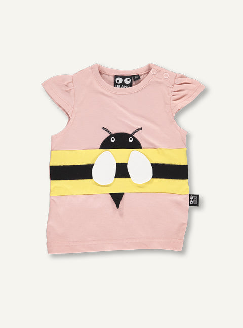 Baby bee Tee - summer blush - STOCK SALE