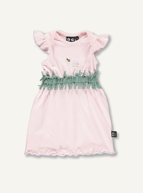 Baby Flower Dress, light pink - STOCK SALE