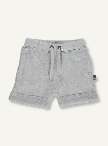 Kids Shorts, Grey melange STOCK SALE