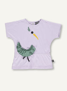 Frill Bird Blouse -lilac - SAMPLE SALE - 5 YR