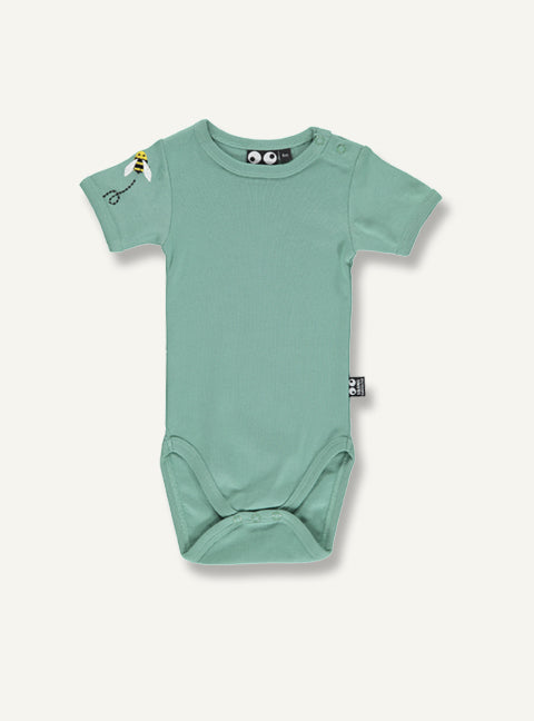 Baby bee Body - deep mos green