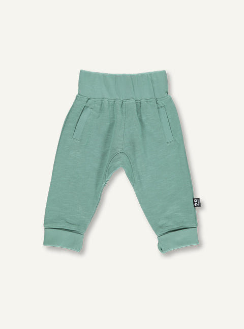Baby sweat pants -  mos green STOCK SALE