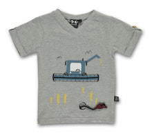 Load image into Gallery viewer, Harvester Tee - grey