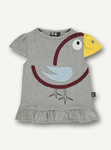 Bird Tee - Grey - STOCK SALE