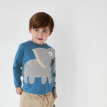 Load image into Gallery viewer, Elephant Tee - Classic blue