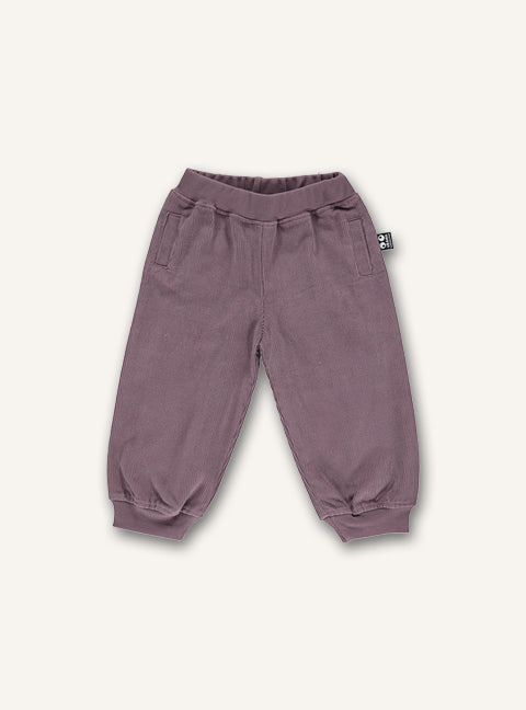 Baby corduroy pants - wood rose - STOCK SALE