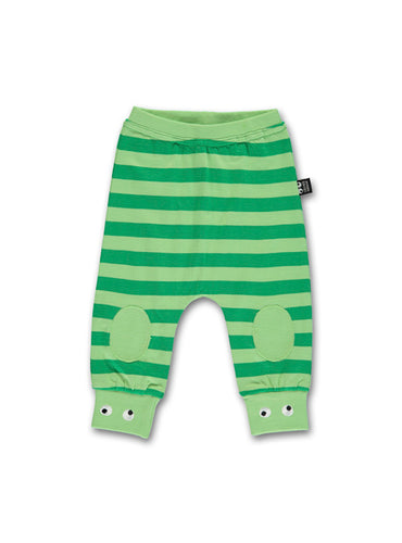 Baby pants light green/green STOCK SALE