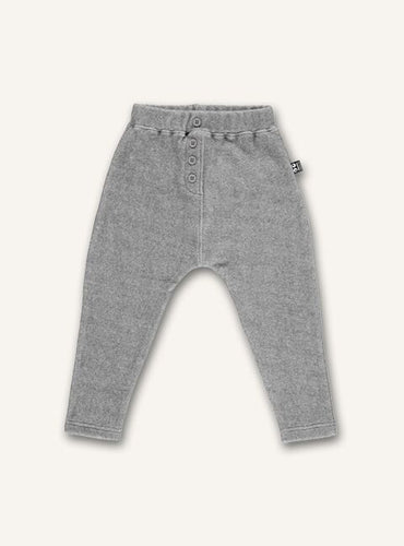Casual pants - Grey melange