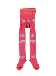 Diamant tights - pink- STOCK SALE