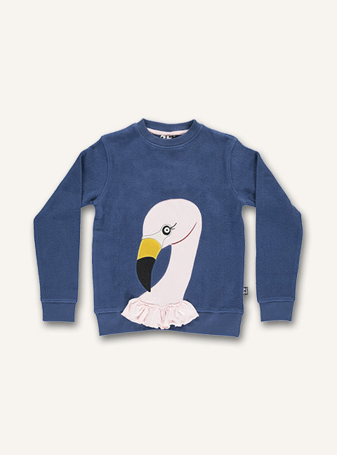 Flamingo Sweat - Dark denim