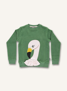 Flamingo Sweat - Hedge green