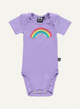 Load image into Gallery viewer, UBANG rainbow body in lilac. It has a rainbow on the front.