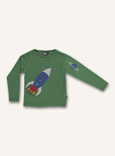 Rocket tee - Hedge green