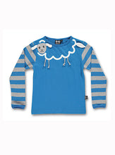 Load image into Gallery viewer, Sheep pajamas - sleepy blue - STOCK SALE
