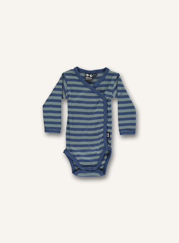 Baby Body - blue stripes STOCK SALE