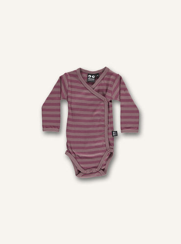 Baby Body - woodrose stripes STOCK SALE