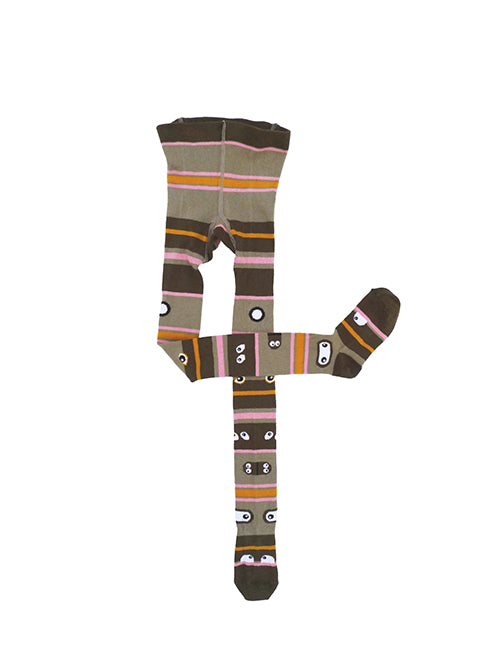 Totem tights light brown  STOCK SALE