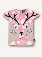 Load image into Gallery viewer, Deer tee lilac - blush dot - STOCK SALE